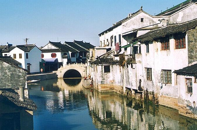 Half Day Suzhou City Tour And Tongli Water Town Visit