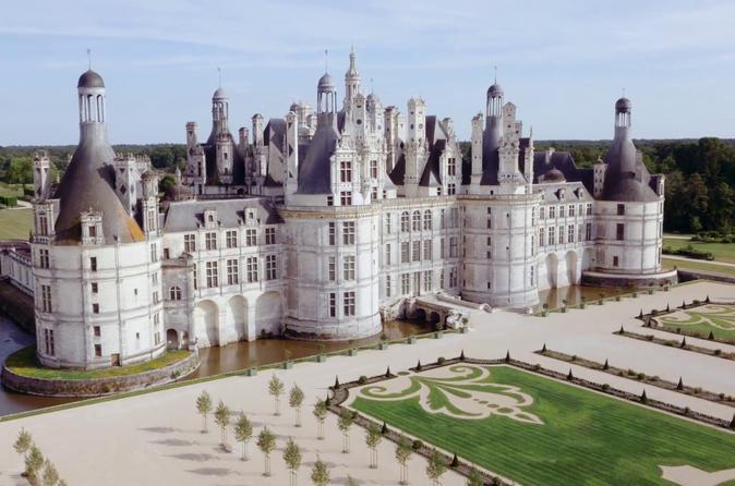 Visita a Chambord con un guia y recogida en el hotel