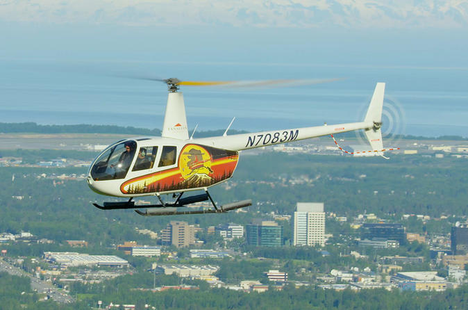 Mountains And Oceans Helicopter Tour - Anchorage