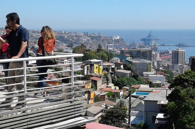 Full Day Tour of Valparaiso and Vina del Mar from Santiago