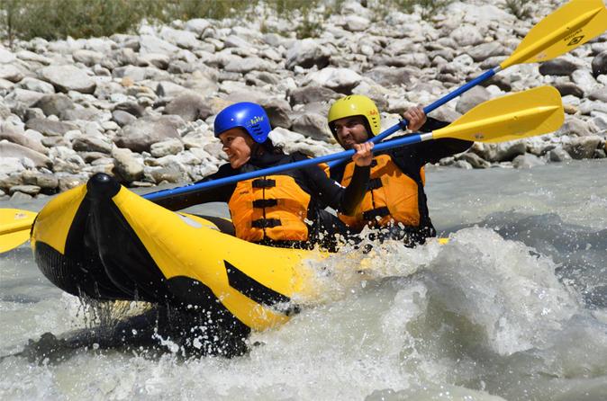 Valais, Switzerland - Duckies Or Inflatable Kayaks