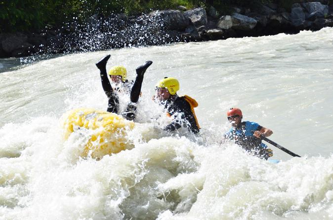 Valais Switzerland - White Water Rafting - Montreux