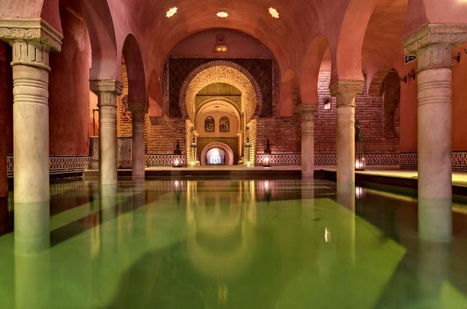 Experimente os banhos árabes no Granada's Hammam Al Ándalus