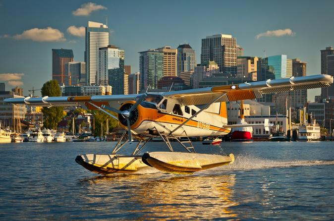 Lake Union Seaplane Flight From Seattle