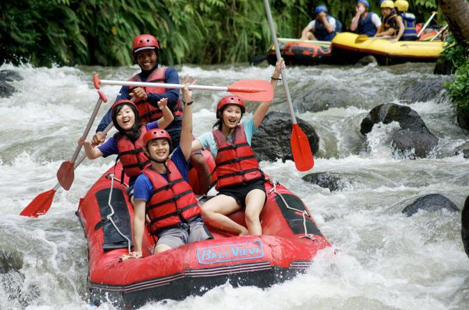 Ayung River Rafting, And Kintamani Volcano Tour With Lunch - Kuta