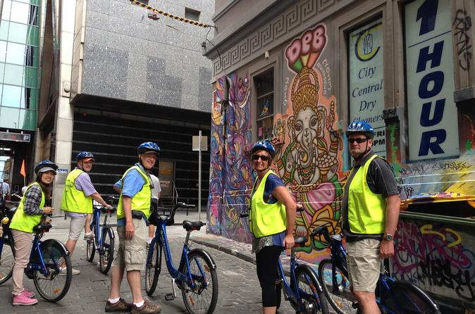 Melbourne Bike Tour with Lunch