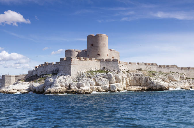 Private Tour: Marseille City Sightseeing and Chateau d'If