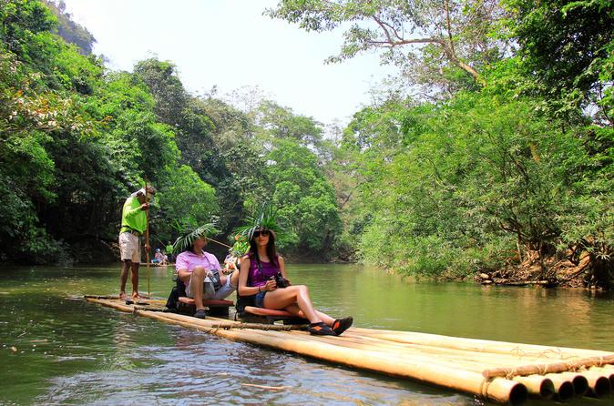 2-Night Khao Sok National Park Tour with Elephants, Jungle Hike and Bamboo Rafting