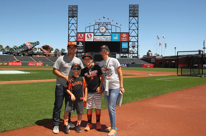 Behind the Scenes Ballpark Tour of AT&T Park