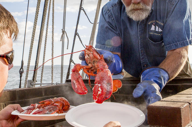 Sunset Lobster Dinner Sailing Cruise - New London
