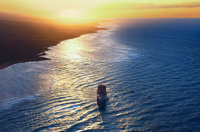 Sunset Helicopter Flight: Maui, Molokai and Lanai