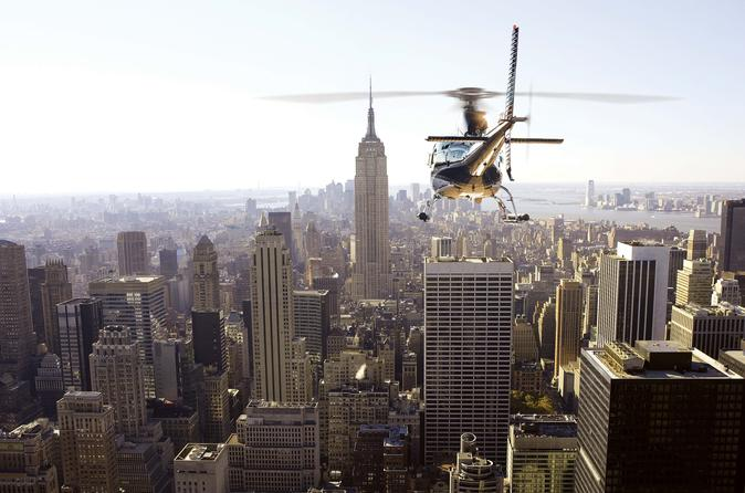Manhattan Helicopter Tour from Westchester
