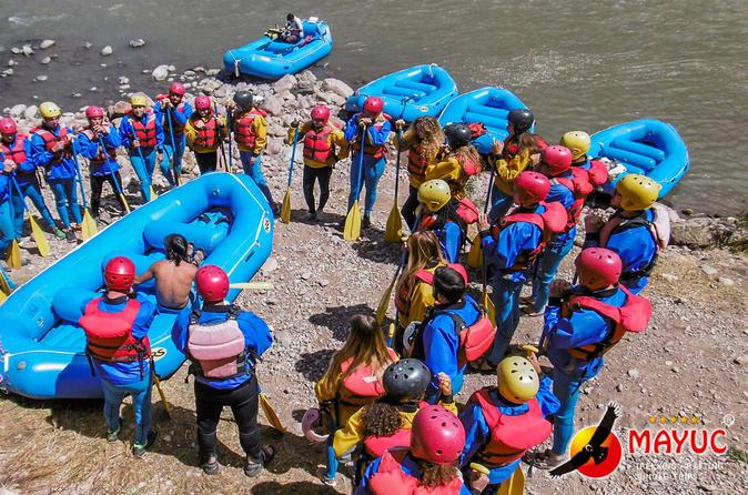 Urubamba River Rafting 1 Day - Cusco
