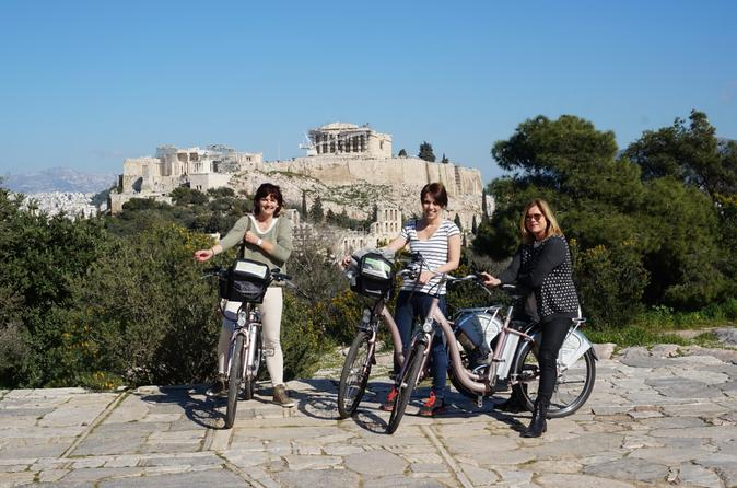Athens electric bike tour in athens 180395