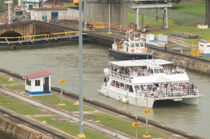 Panama Canal Partial Transit - Northbound direction