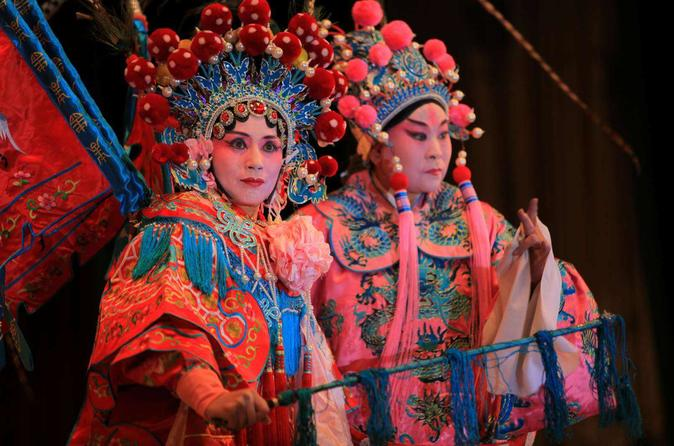 Peking opera in Liyuan theatre with private transfer in Beijing