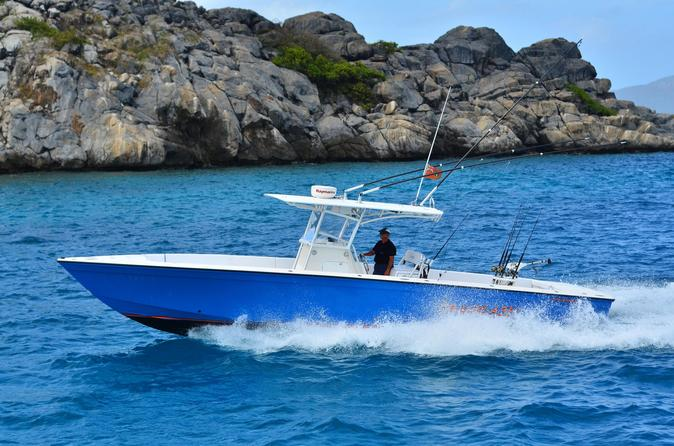 10 Hour Private Fishing Charter St Thomas