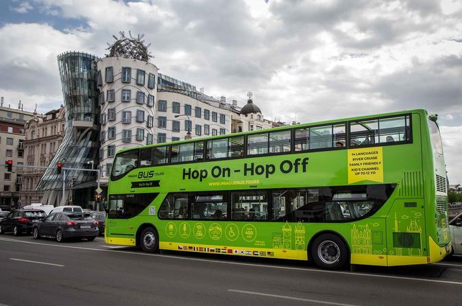 Hop-On Hop-Off Tour In Prague For 24 Hours