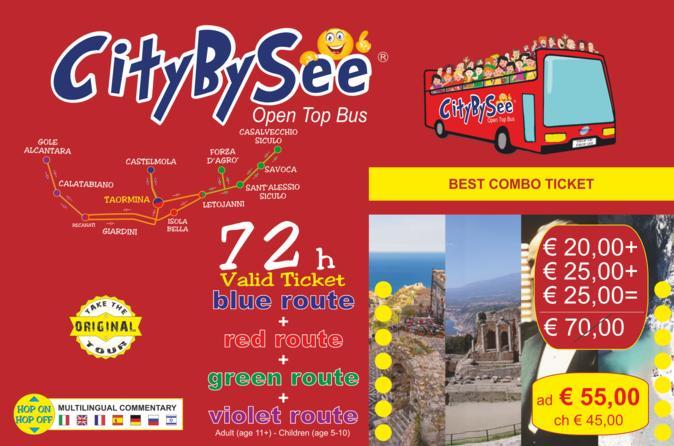 CityBySee Taormina & Alcantara Gorges & Godfather Tour