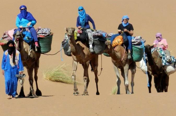 PRIVATE DESERT TOUR TO MERZOUGA 4 DAYS 3 NIGHTS - Marrakesh