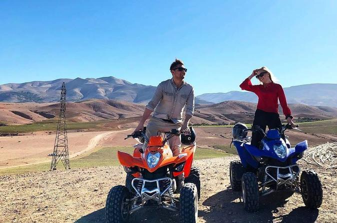 QUAD BIKING IN MARRAKECH PALM GROVE - Marrakesh