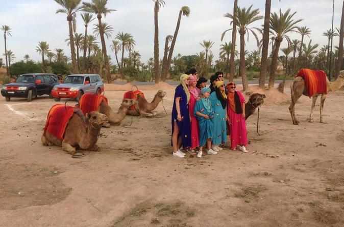SUNSET CAMEL RIDE IN MARRAKECH PALM GROVE - Marrakesh