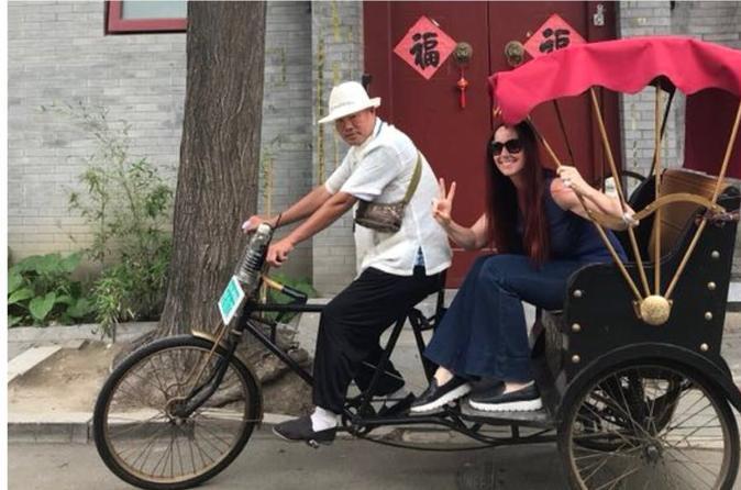 Private Tour : Half - Day Package of Hutong Rickshaw & Beihai Park Tour