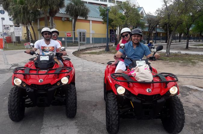 3 Hour (2 passenger) ATV Tour of Nassau & Paradise Island Inclusive of Lunch