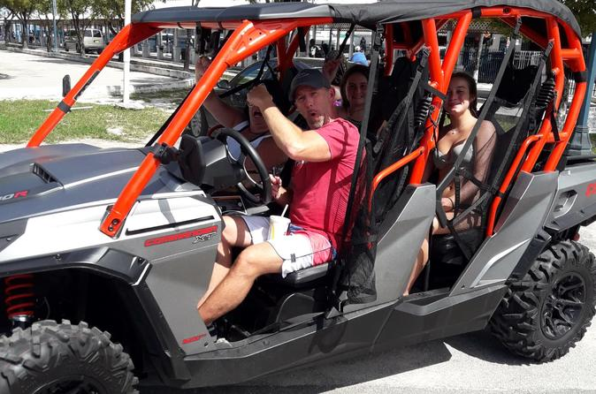 Rental Can AM Commander Max XT 1000 UTV (4 passenger Buggy)
