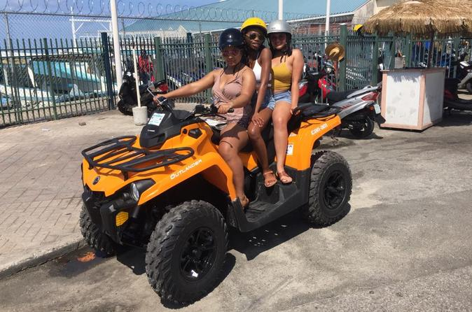 Rental Can AM Outlander 450 Max ATV (3 passenger )