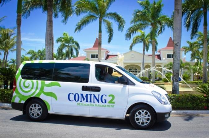 Airport Transportation from Punta Cana Airport to the Punta Cana - Bavaro Hotel zone