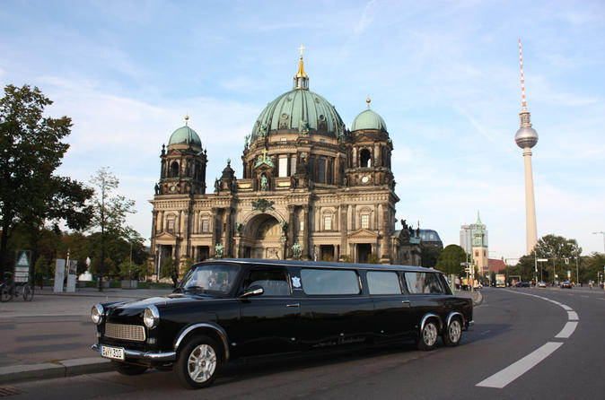 Private Tour: Berlin by Trabant Stretch-Limousine