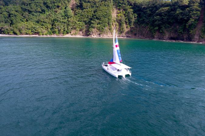 Secluded Beach Catamaran Tour - Jaco
