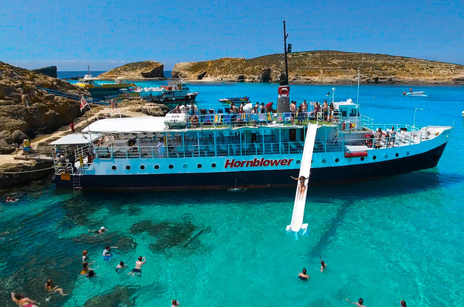 Comino, Blue Lagoon And Caves