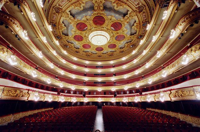 Gran Teatre del Liceu Tour in Barcelona Including Special Access to El Circulo del Liceo Private Club