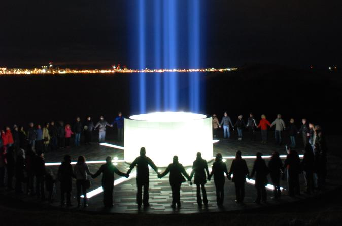 Imagine Peace Tower Tour from Reykjavik