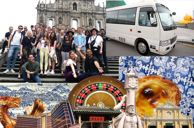 Savour Macau Half Day Tour by Award Winning Operator