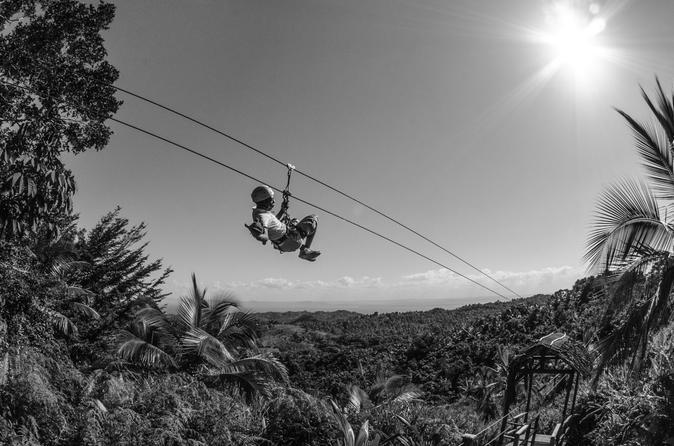 Zipline adventure in el lim n in samana 249941