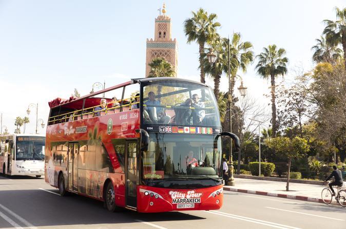 Marrakech City Tour Hop On - Hop Off