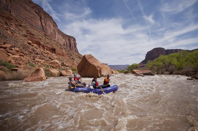 Fisher towers rafting experience from moab in moab 188594