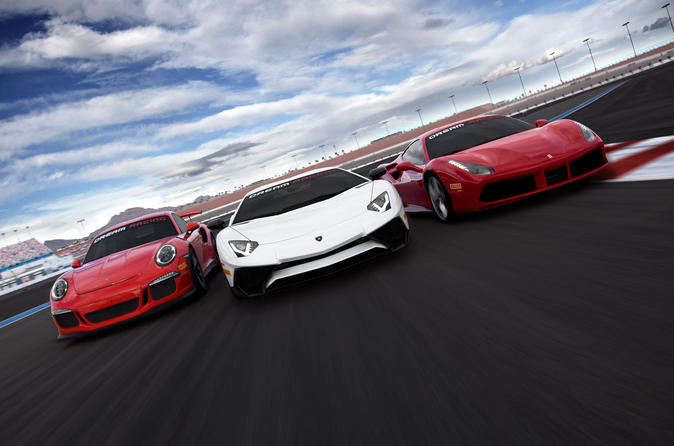 Exotic Car Driving Experiences at Las Vegas Motor Speedway