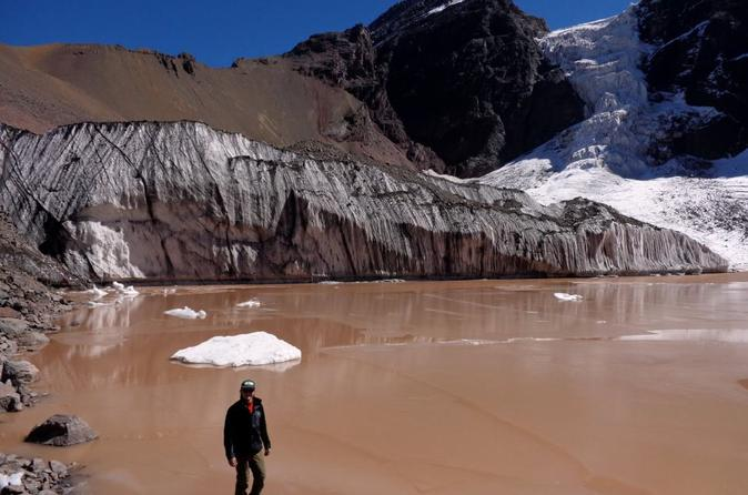 2-Day Private Glacier Hike and Hotsprings from Santiago