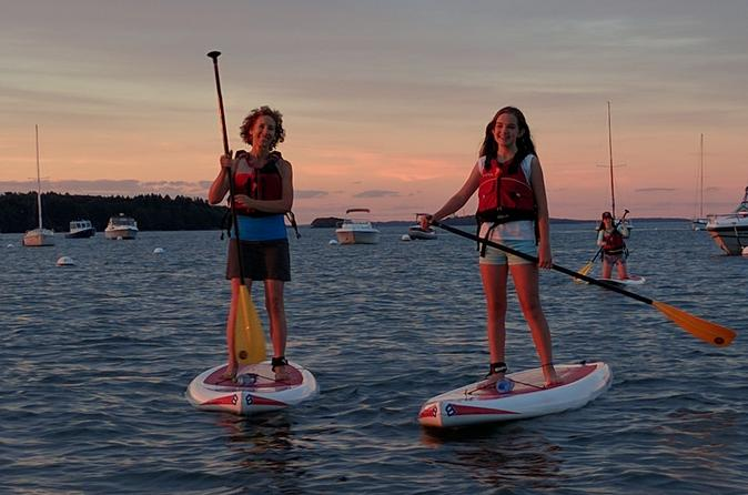 Stand up paddleboard rental in casco bay in portland 446051