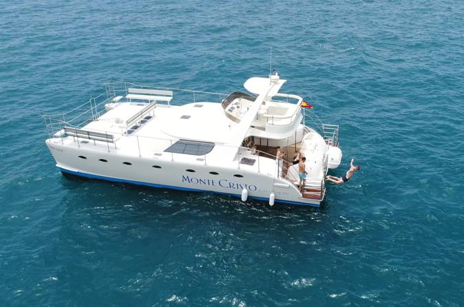 Luxury Small Group Catamaran Trip With Whale & Dolphins Watching, Food & Drinks & Transfers - Tenerife