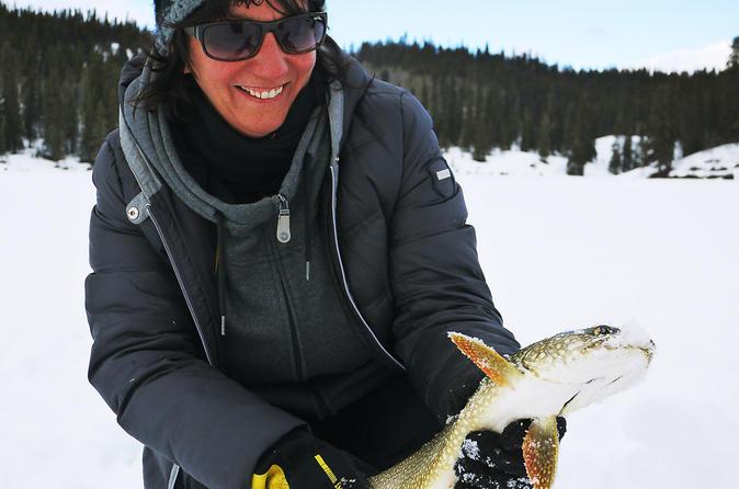 Yukon Ice Fishing and Snowshoeing Tour