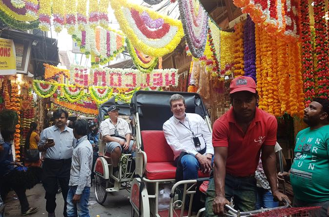 Luxury Rickshaw Tour of Old Delhi