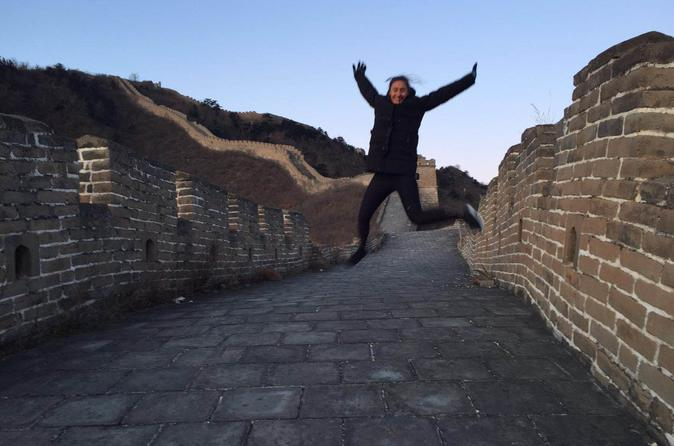 7-8 hours layover tour to Mutianyu Great Wall and forbidden city