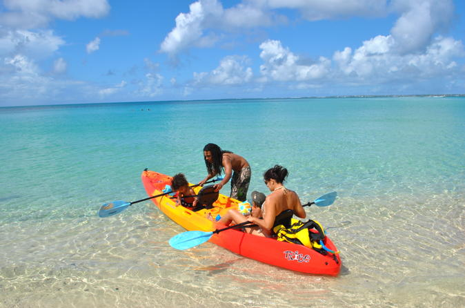 Creole rock canoe or kayak snorkeling excursion from grand case in grand case 201515
