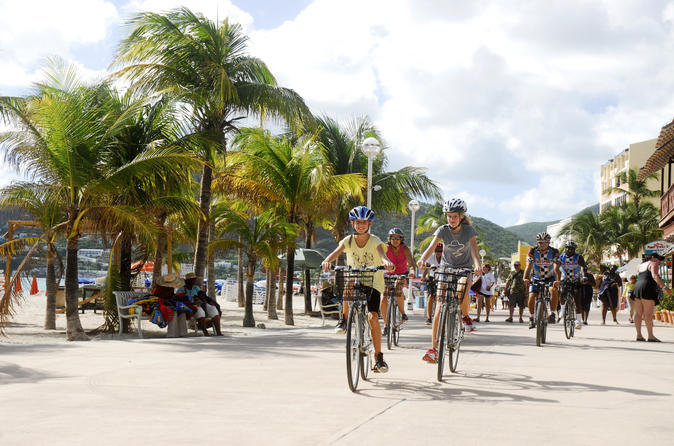 Historical Philipsburg Bike Tour in St Maarten