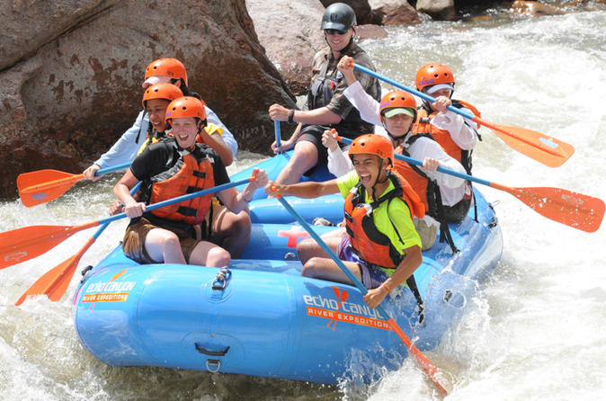 Royal gorge 3 hour rafting experience in ca on city 183336